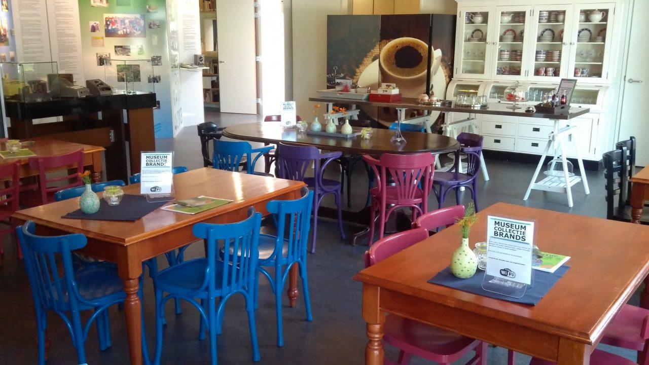 Museum Brands café
